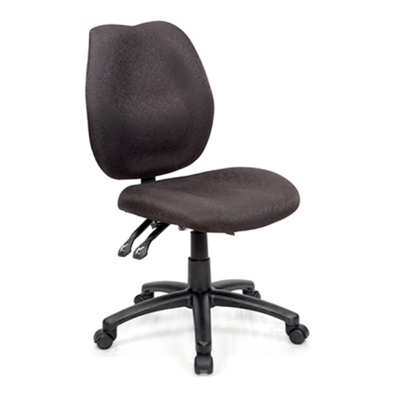 a fully ergonomic high back operator chair with 3 levers