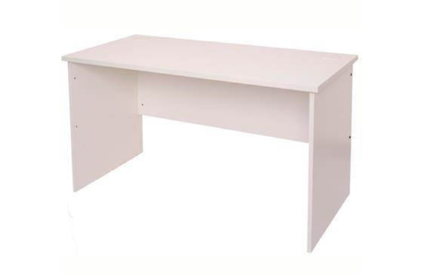laptop table made from melamine, with side bolts for extra rigidity